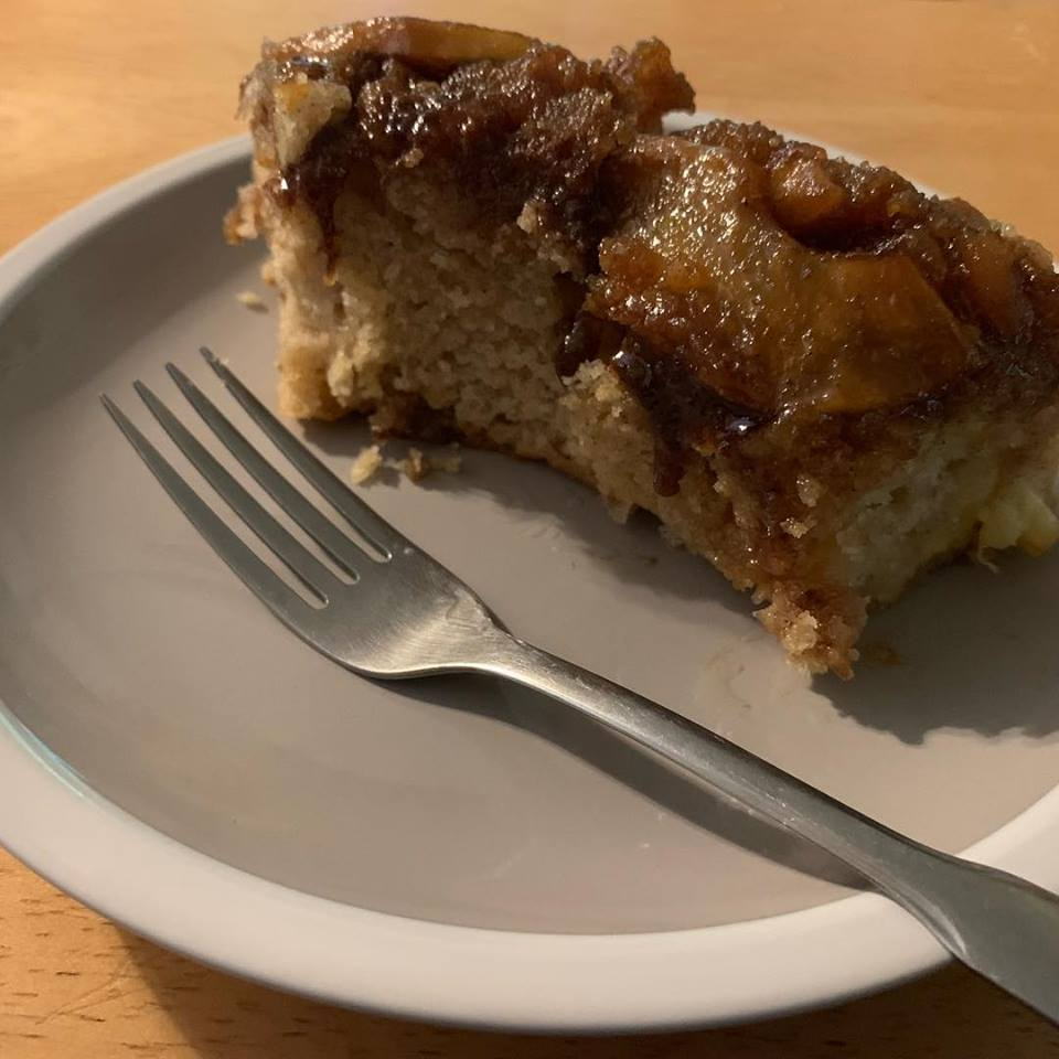apple coffee cake (piece)